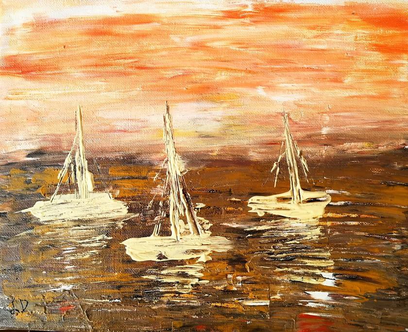 Dreaming of the Sea - Galleria d'Arte Online con Artisti ed Opere Reali Expositio