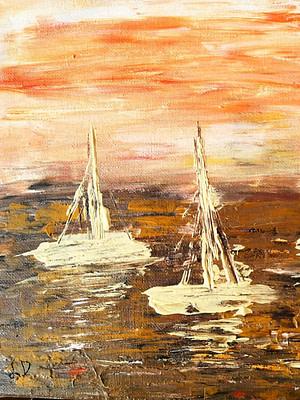 Dreaming of the Sea Pittura - Expositio Galleria Arte Online con Artisti Ed Opere Reali