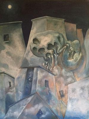 Incubo pomeridiano Pittura - Expositio Galleria Arte Online con Artisti Ed Opere Reali