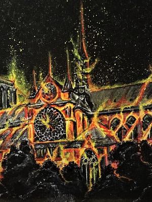 Notre Dame Pittura - Expositio Galleria Arte Online con Artisti Ed Opere Reali