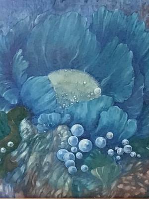 Fiore marino Pittura - Expositio Galleria Arte Online con Artisti Ed Opere Reali