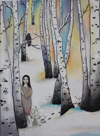 L'ultimo dipinto di Sara de Voos Pittura - Expositio Galleria Arte Online con Artisti Ed Opere Reali