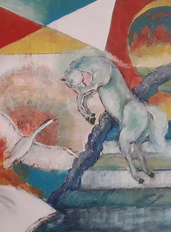 Oltre i visi Pittura - Expositio Galleria Arte Online con Artisti Ed Opere Reali