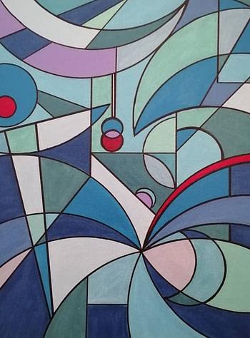 Solstizio d'inverno Pittura - Expositio Galleria Arte Online con Artisti Ed Opere Reali