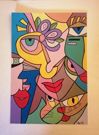 L'incontro Pittura - Expositio Galleria Arte Online con Artisti Ed Opere Reali