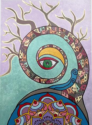 Arbor vitae Pittura - Expositio Galleria Arte Online con Artisti Ed Opere Reali