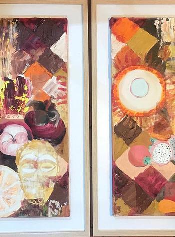 Caribbean abstract Pittura - Expositio Galleria Arte Online con Artisti Ed Opere Reali
