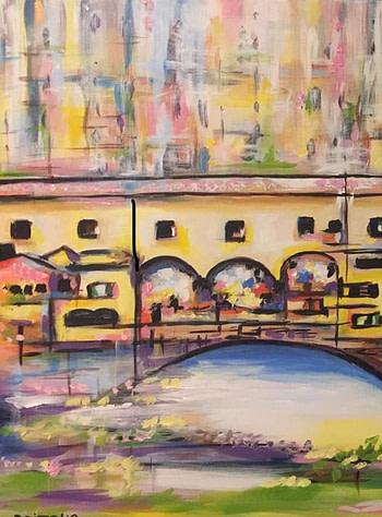 Ponte Vecchio Pittura - Expositio Galleria Arte Online con Artisti Ed Opere Reali