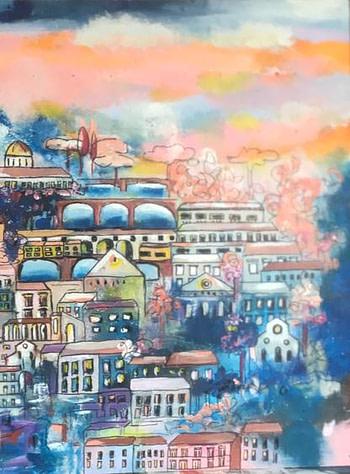 Florence Italy Pittura - Expositio Galleria Arte Online con Artisti Ed Opere Reali