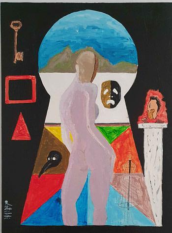Sguardo sul mondo Pittura - Expositio Galleria Arte Online con Artisti Ed Opere Reali