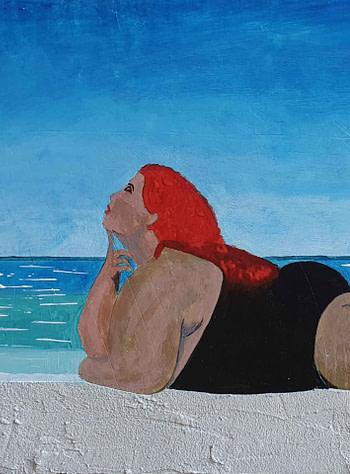La sirena Pittura - Expositio Galleria Arte Online con Artisti Ed Opere Reali