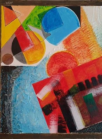 Sovrapposizioni Pittura - Expositio Galleria Arte Online con Artisti Ed Opere Reali
