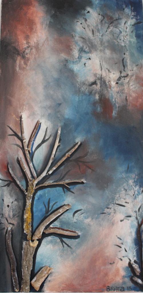 Foresta Pittura - Expositio Galleria Arte Online con Artisti Ed Opere Reali