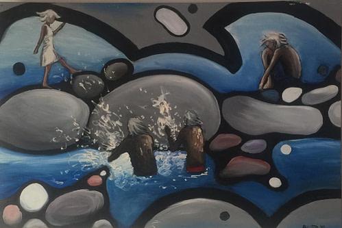 Splish Splash Pittura - Expositio Galleria Arte Online con Artisti Ed Opere Reali