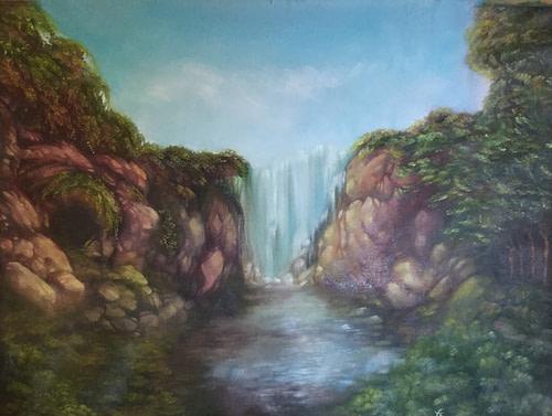 Calma Onirica by Elena Gentinetta - Expositio Galleria d'Arte Online