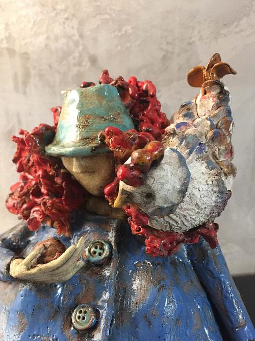 Coccodè Scultura - Expositio Galleria Arte Online con Artisti Ed Opere Reali