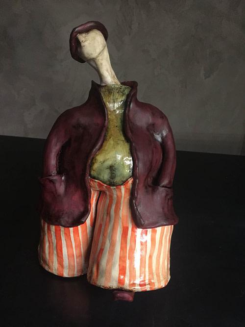 Fischietto Scultura - Expositio Galleria Arte Online con Artisti Ed Opere Reali