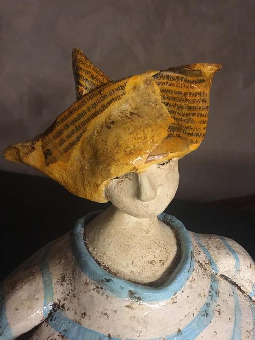 Barca Scultura - Expositio Galleria Arte Online con Artisti Ed Opere Reali