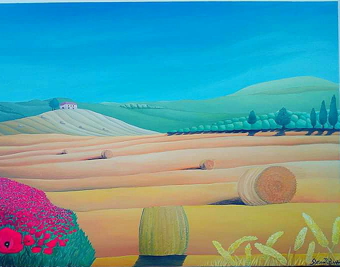 Campagna materana Pittura - Expositio Galleria Arte Online con Artisti Ed Opere Reali