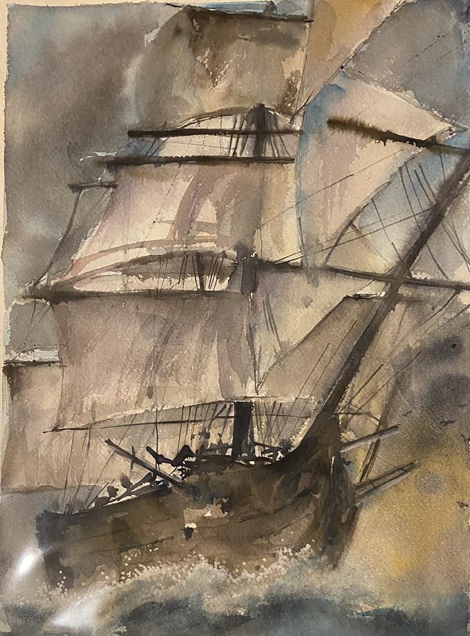 GALEONE Pittura - Expositio Galleria Arte Online con Artisti Ed Opere Reali