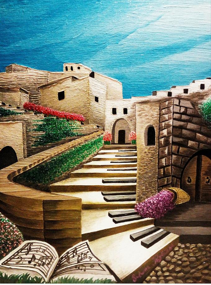 La musica a Matera Stampe Artistiche Expositio Galleria d\'Arte Online con Artisti Ed Opere Reali