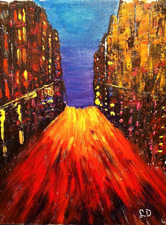Da Roma a New York Pittura - Expositio Galleria Arte Online con Artisti Ed Opere Reali