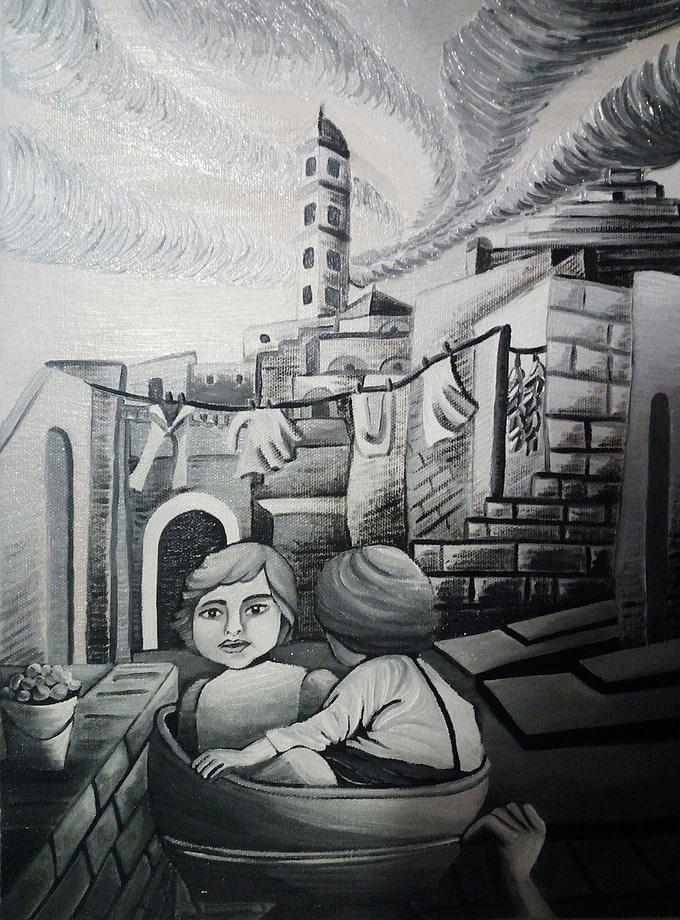 Matera anni '50 Pittura - Expositio Galleria Arte Online con Artisti Ed Opere Reali