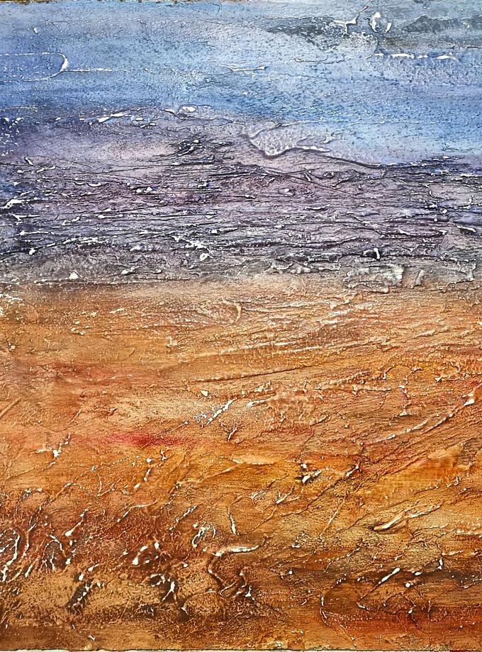 Abstract landscape Pittura - Expositio Galleria Arte Online con Artisti Ed Opere Reali