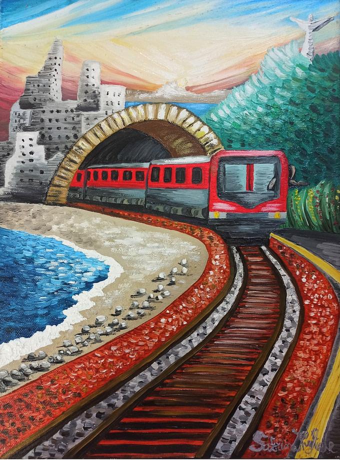 In viaggio Pittura - Expositio Galleria Arte Online con Artisti Ed Opere Reali