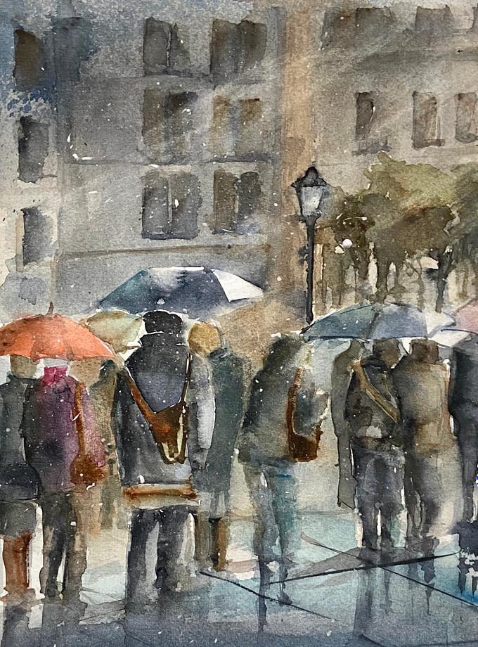 VENTO DAL NORD Pittura - Expositio Galleria Arte Online con Artisti Ed Opere Reali