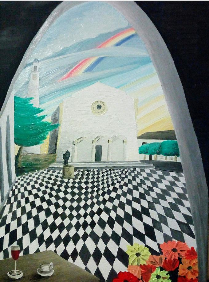 Piazza Heraclea Pittura - Expositio Galleria Arte Online con Artisti Ed Opere Reali
