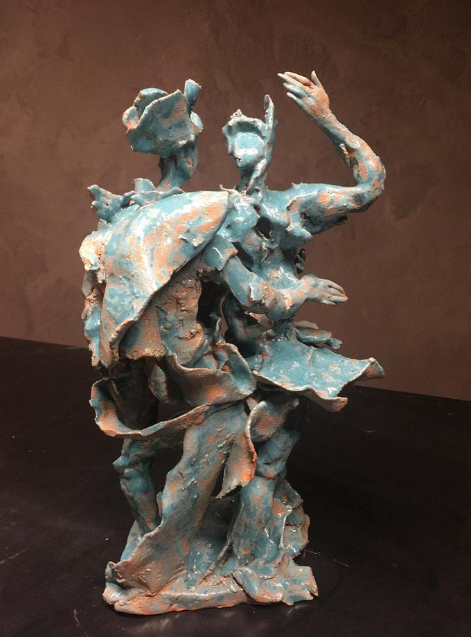 Ballerini Scultura - Expositio Galleria Arte Online con Artisti Ed Opere Reali