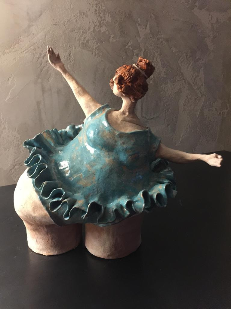 Ballerina Scultura - Expositio Galleria Arte Online con Artisti Ed Opere Reali
